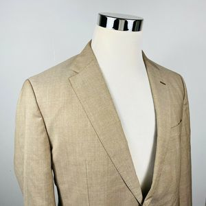 Hugo Boss 40R Jewels Linus Sport Coat Beige REDA